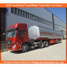 40000 litros de reboque do petroleiro de óleo semi com o trator de Dongfeng CUMMINS