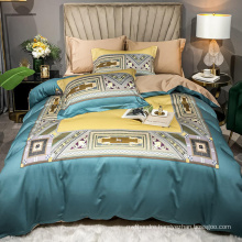 Home Textile Cheap Price Bedding Set Cotton Fabric Soft for Single Bed Sheet Digital Printing