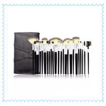 Beauty Customized Logo Pincéis faciais para cosméticos com estojo para cosméticos