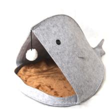 теплый плюшевый клюв акулы домик для домашних животных прочный питомец