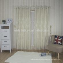 Janela da cortina do bordado do poliéster da chegada nova 100%