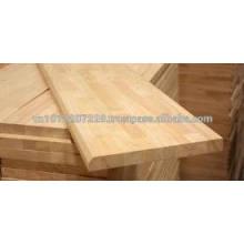 Panel de madera de goma / encimera / Encimera / encimera