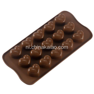 Star Shell en Heart Shape Silicone Candy Moulds