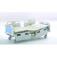 Five-function manual bed
