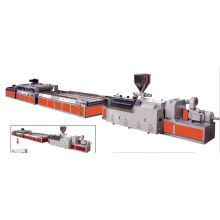 Línea de producción de la placa de la puerta de madera del PVC / máquina de producción
