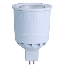Lámpara de aluminio del bulbo del proyector de la NUEVA llegada 12V 8W MR16 COB LED