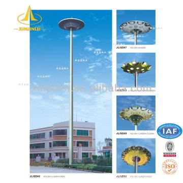 Poste de iluminación de mástil de 15 m