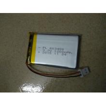 Heißer verkaufender nachladbarer Li-Polymer-Batterie-Mod. 603450 3,7 V 1200 mAh