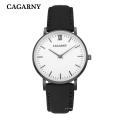 6855 Moda Wristwatch Gold Silver Black Case Disponível