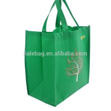 Petit sac à provisions pliable réutilisable non tissé pp