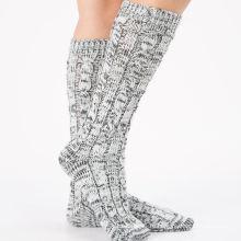Носки производители Оптовая пользовательские женщины мода платье носки