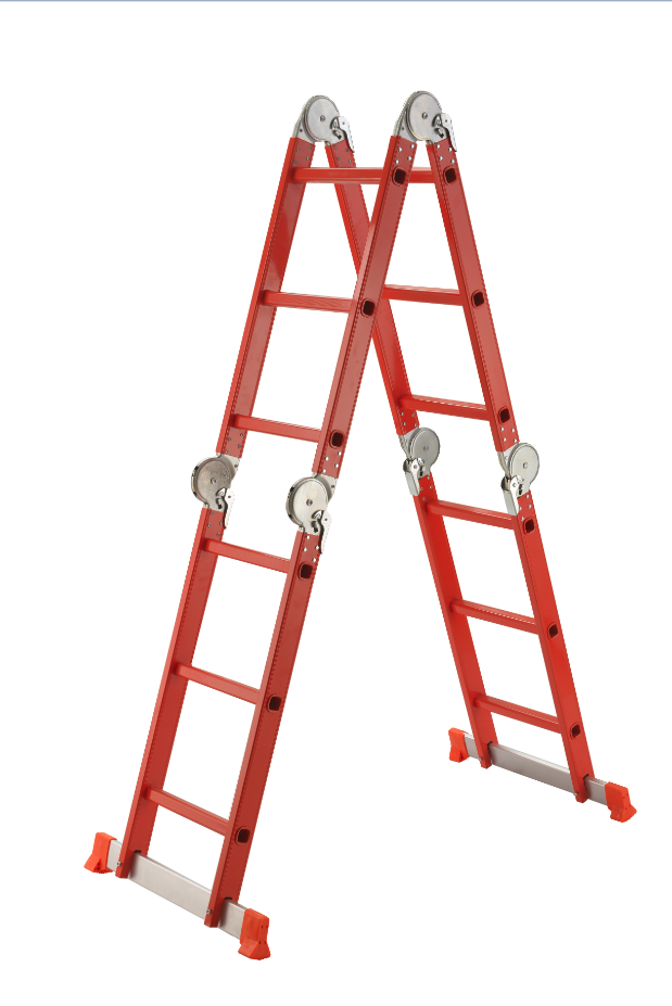 Best quality aluminum folding ladder (5)