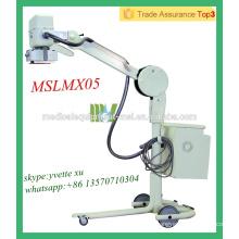 MSLMX05-M Haute qualité Appareil radiographique mobile à haute fréquence Appareil radiographique numérique