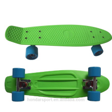 2016 hot selling cheap blank plastic skateboard cruisers for sale