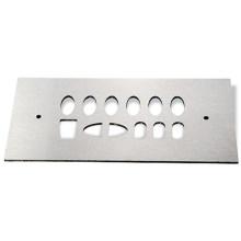 Peças de corte a laser de aço inoxidável