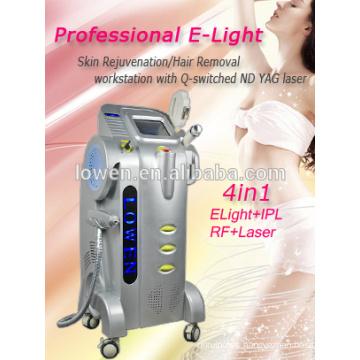 YAG LASER eliminación del tatuaje ELight IPL depilación Bipolar máquina de radiofrecuencia