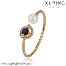 51721 Xuping Jewelry Pearl Bangle for women With Gold Plated