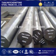 Eixo de aço carbono sólido estirado a quente / laminados a frio 1020 1045 SS400 A36 melhor preço