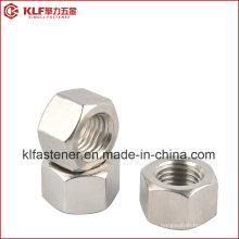 Tuerca hexagonal de acero inoxidable 316L ISO4032