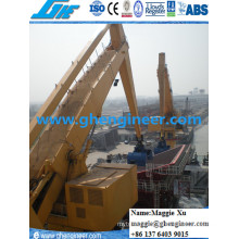 Manejo de Carbón Port Machine Hydraulic E Crane
