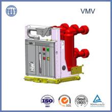 El interruptor de vacío 12kv 630A Vmv incrustó poste disipa el disyuntor del vacío del Hv