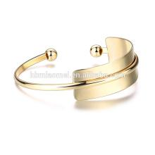 OEM en gros l'Europe et les États-Unis vente bracelet 18k mode bricolage plaqué couleur coulour bracelet