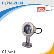 Controlador de corriente constante incorporado 3w luz de tira llevada subacuática ip68 aluminio que fluye