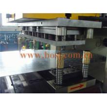 Pre / galvanizado de acero y Gi cable Tray / Cable Trunking Roll formando la fabricación de la máquina Indonesia