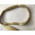 75cm White Horse Tail Hair