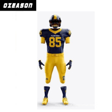 2015 New Style 100% Polyester American Football Shirt