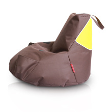 Brown Piggy Bean Bag Stuhl für Kinder