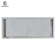 Sliding Doors 304 Commercial Kitchen Hanging Cabinet