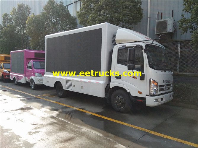 outdoor LED Display Advertising Trucks