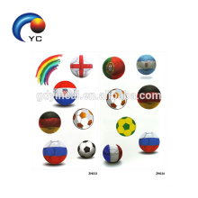 Wholesale Tattoo Suppliers Football Tattoo National Flag Sticker in 2018