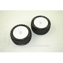 Tyres for Rc Rear Buggy Car, Wheel for 1/10 Rc Car , Tyres for Rc Toys