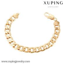 70243 Xuping Nouveau bracelet fantaisie plaqué or