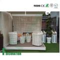 Напольный деревянный пластичный decking смеси WPC