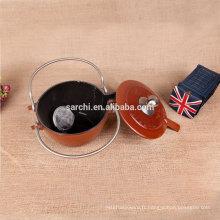 Nouveaux produits bouilloire à thé en émail personnalisé pour femme au foyer