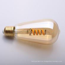 ámbar suave LED Filamento de la lámpara LED ST45 220-240V 4W