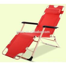 Cadeiras de praia reclináveis ajustáveis para exterior ou interior