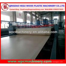 crust foam high strength pp/pe/pvc wpc board machine