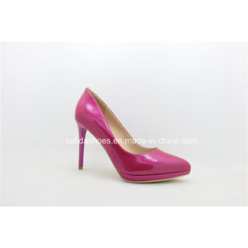 2017 New Fashion Pink High Heels Women Platform Shoe