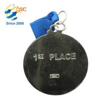 Antique gold 3D zinc alloy custom No Minimum Marathon Custom Medal