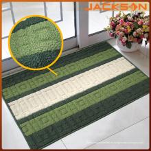 Cheap PP Yarn Stripe Design Alfombra de puerta Alfombra