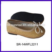 SR-14WFL2211 La belleza utilizó los zapatos para los zapatos de los niños de los niños del invierno calza los zapatos de los niños al por mayor
