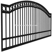 Высокое качество железные ворота дизайн / стальные ворота цена / современные конструкции главные ворота