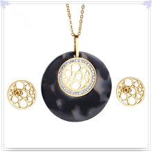 Accesorios de moda joyería de moda joyería de acero inoxidable conjunto (js0252)