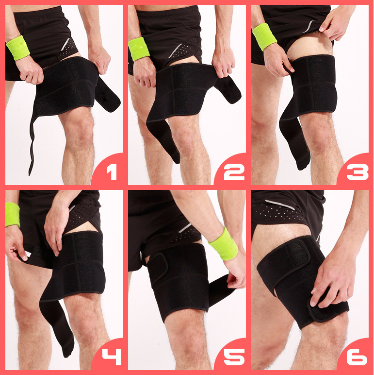 No Curling Thigh Brace