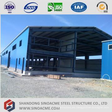 Edificio de acero prefabricado para Steel Structure Warehouse