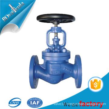 DIN bellows globe valve casting forged steel globe valve